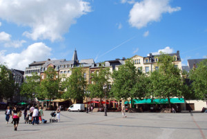 Marktplatz in Luxemburg