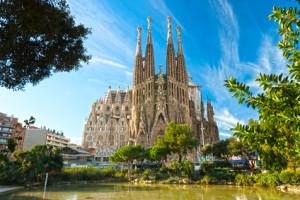 La Sagrada Familia Barcelona Spanien