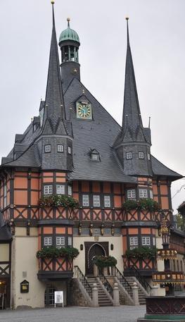 Rathaus in Wernigerode im Harz