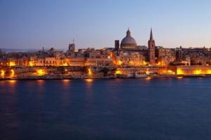 Valetta Altstadt auf Malta