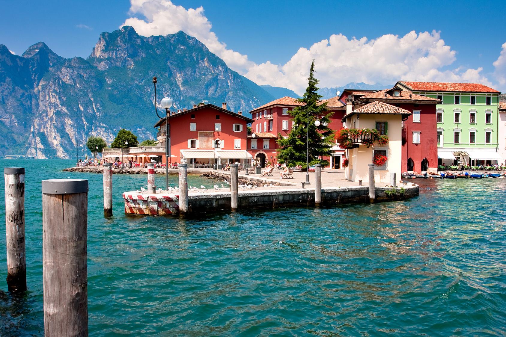 Gardasee Torbole Italien